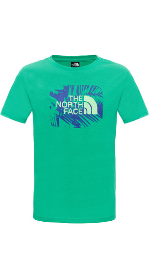 The North Face Boys Reaxion S/S Tee Blarney Green